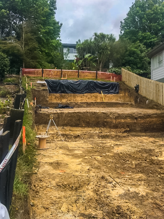 earthworks auckland home builders